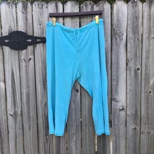 Large baby blue Hanes sweats